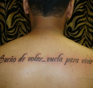 spanish tattoo